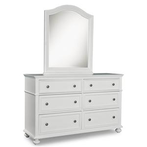 Legacy Classic Kids Madison Dresser and Mirror Set