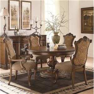 Legacy Classic Pemberleigh 5 Piece Table and Chairs Set