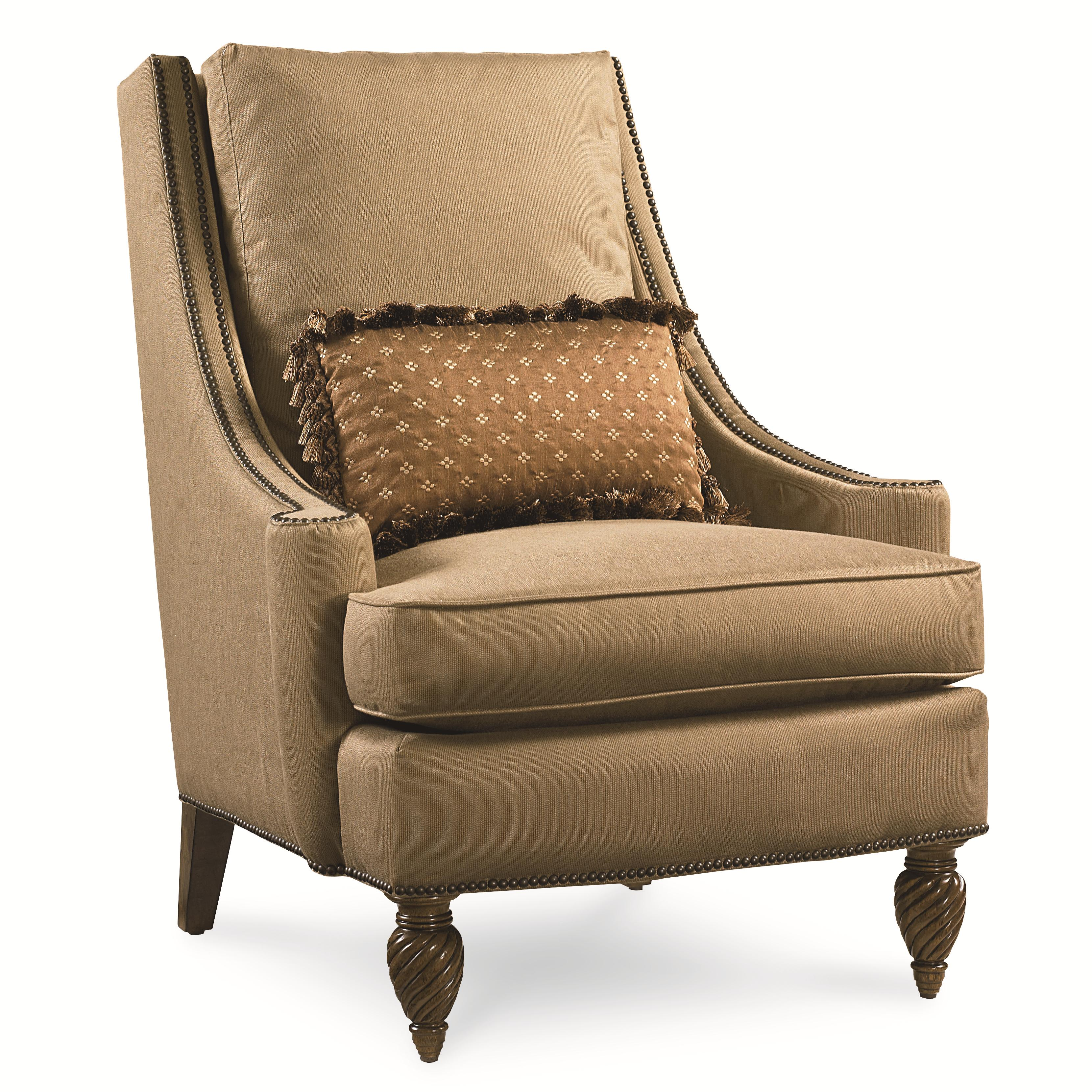 Accent Chair with Nailhead Trim by Legacy Classic