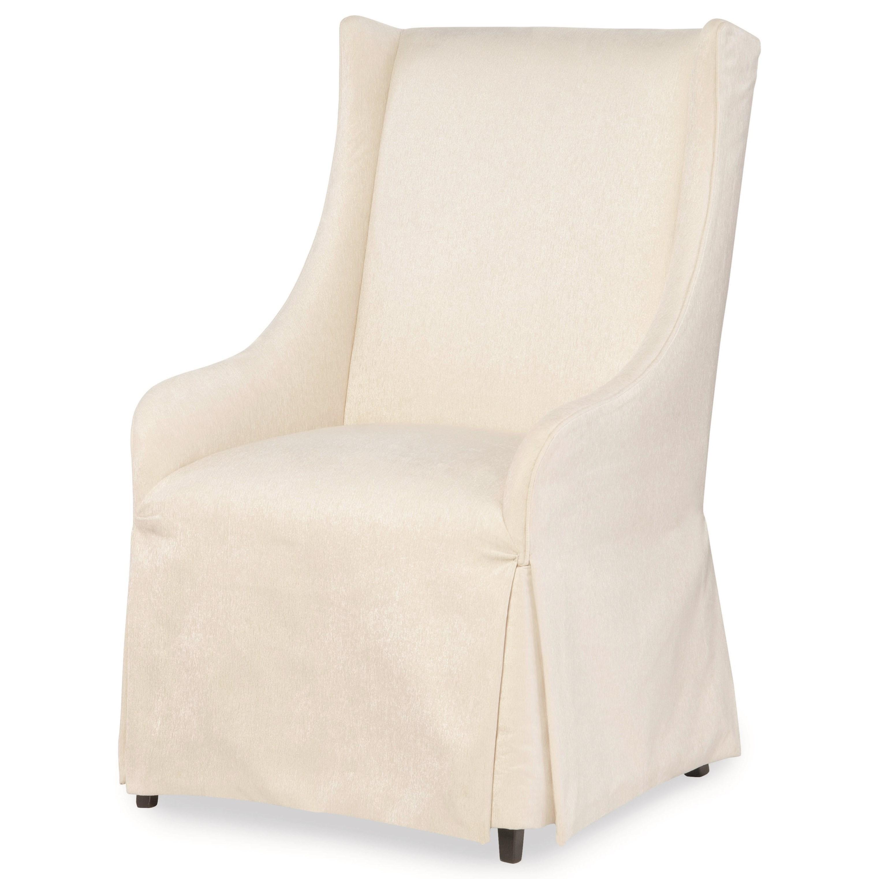 Etonnant Upholstered Host Chair With Skirt