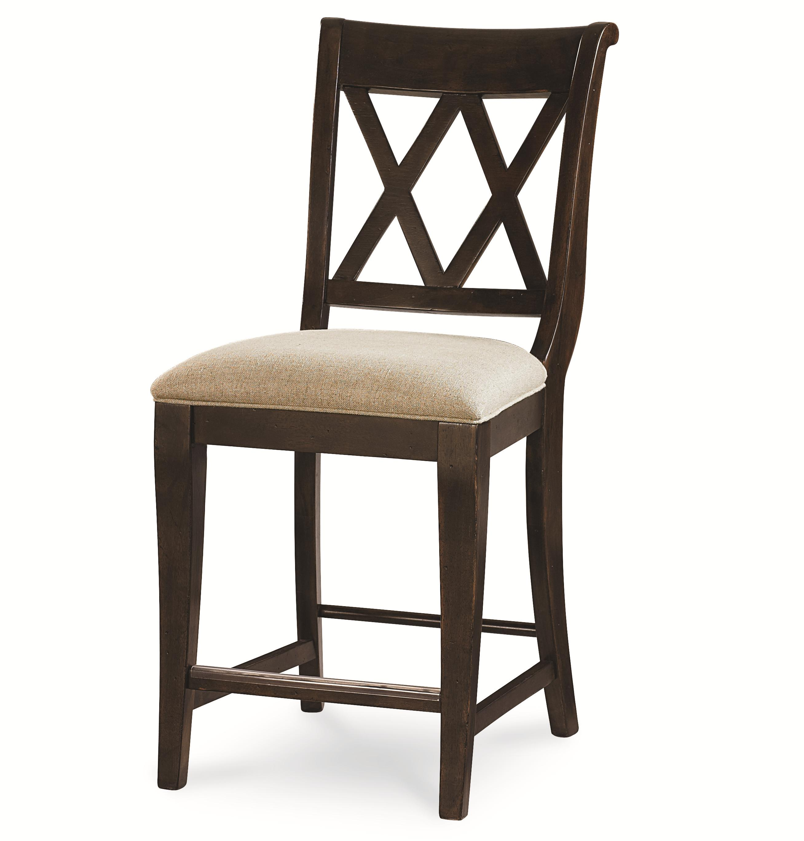 Pub Chair with X Back by Legacy Classic