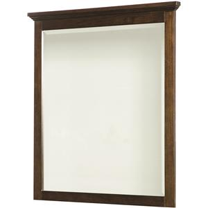 Dresser Mirror with Beveled Glass