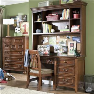 Legacy Classic Kids American Spirit Computer Desk and Hutch