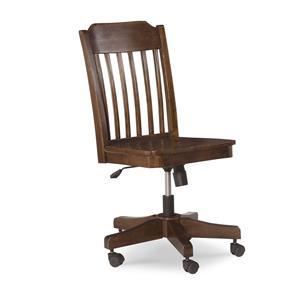 Slat Back Desk Chair