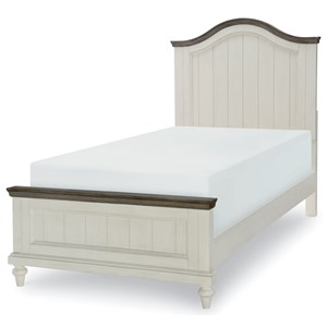 Relaxed Vintage Twin Panel Bed