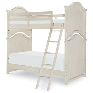 Relaxed Vintage Twin Over Twin Bunk Bed