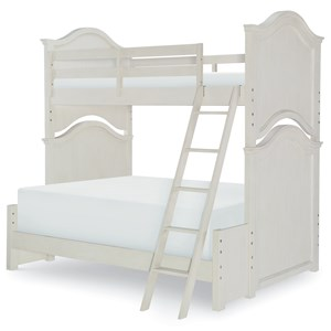 Relaxed Vintage Twin Over Full Bunk Bed