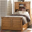 Legacy Classic Kids River Run Twin Bookcase Bed with Trundle - Item Number: 3900-4803K+9500