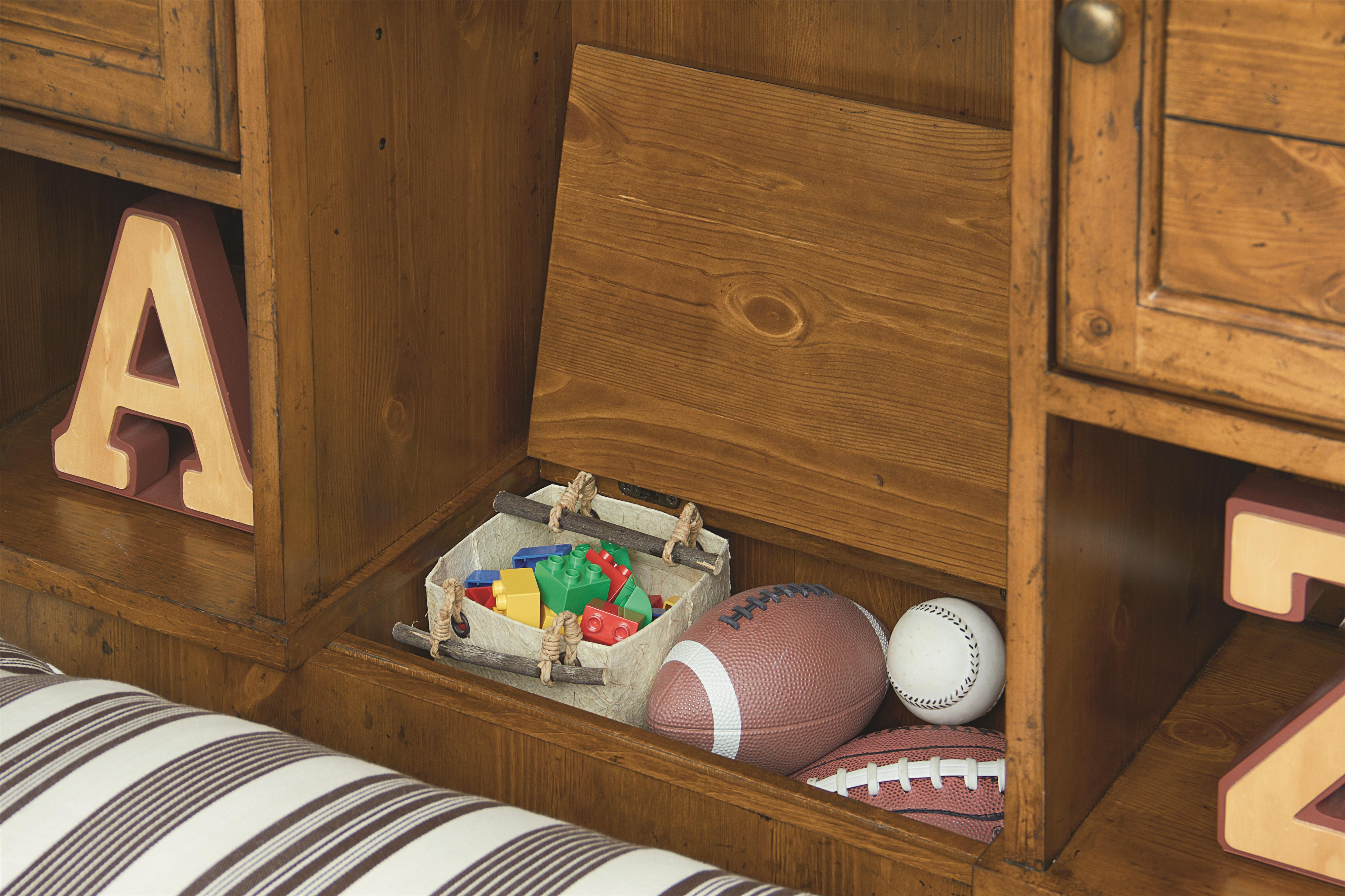 Full Bookcase Bed With Hidden Compartment and Outlet by Legacy ...
