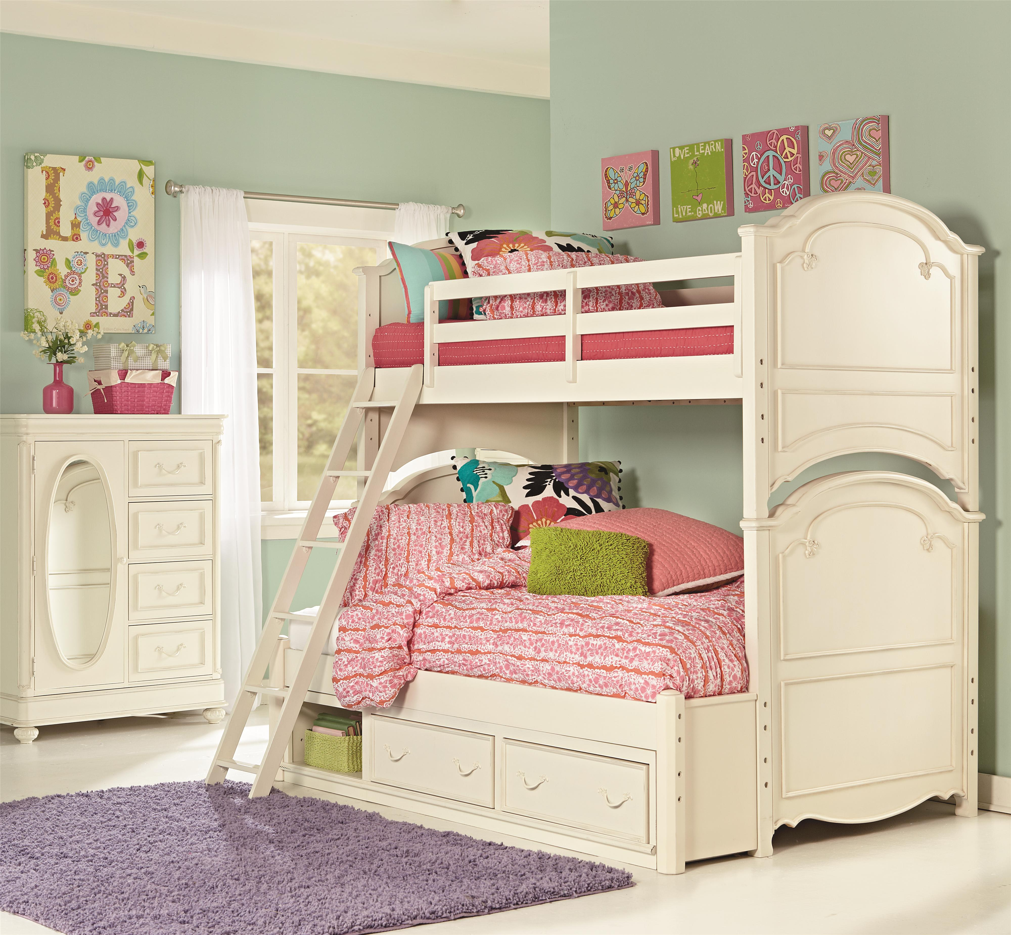 Twin Over Full Bunk Bed With Underbed Storage Unit By Legacy Classic
