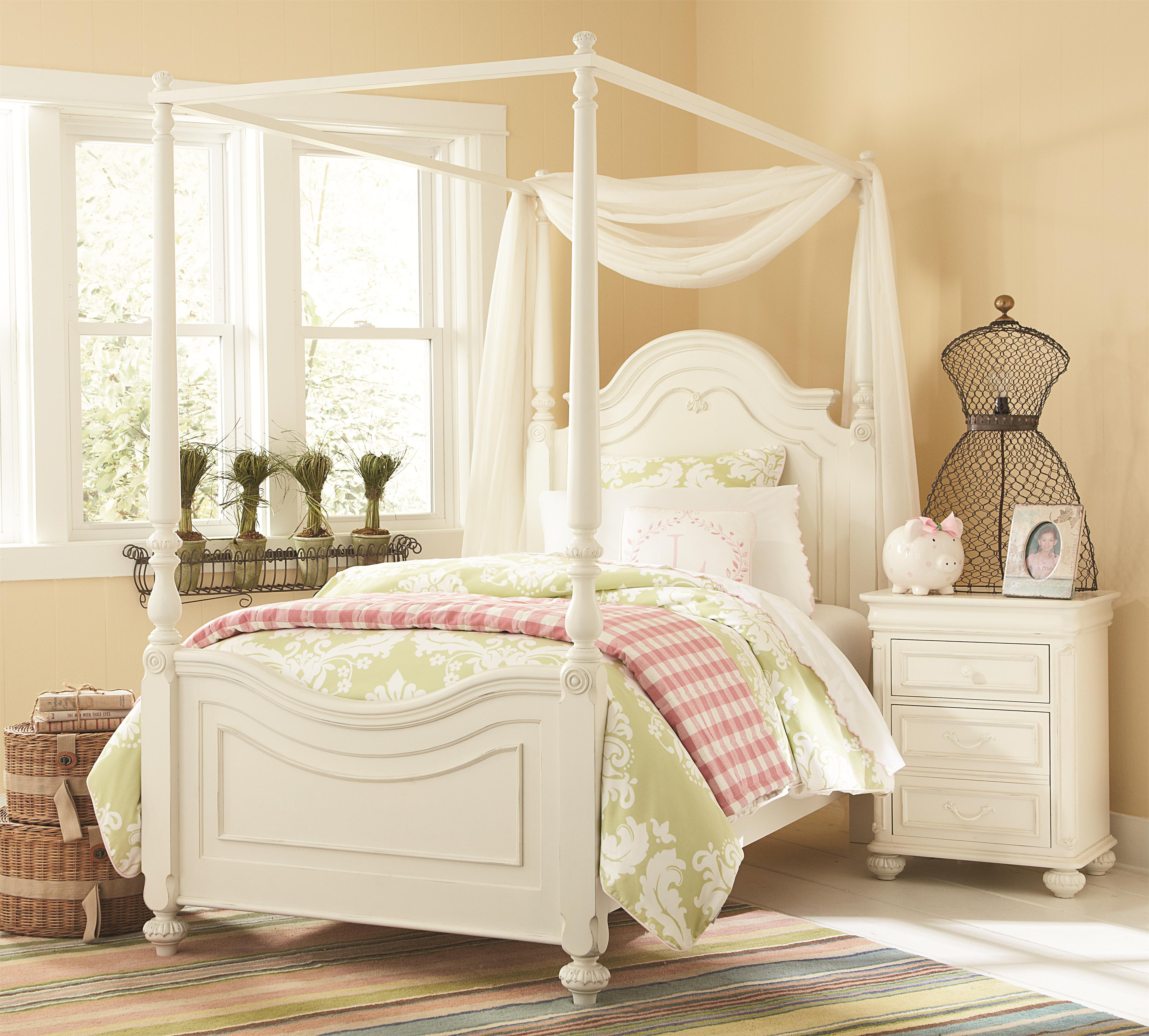 Full Low Poster Bed With Canopy Frame By Legacy Classic