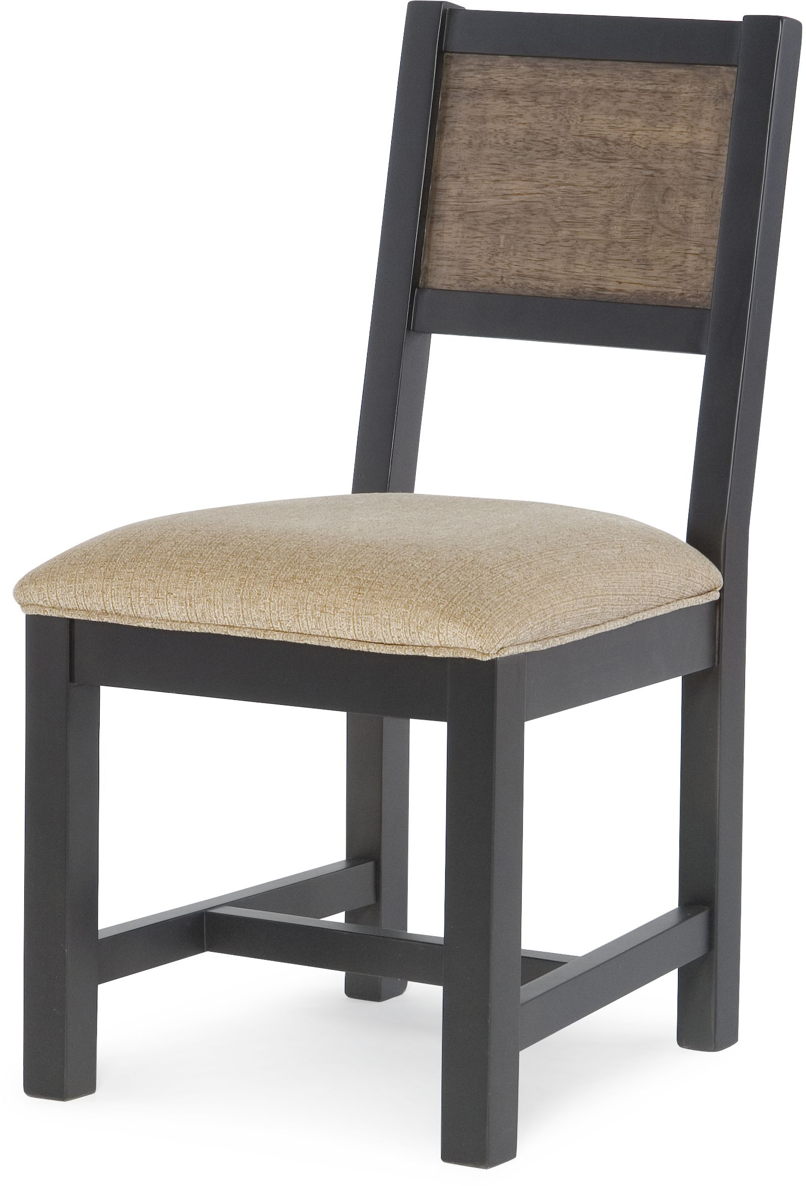 Desk Chair with Upholstered Seat