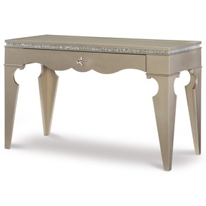 Glam Table Desk with 1 Drawer