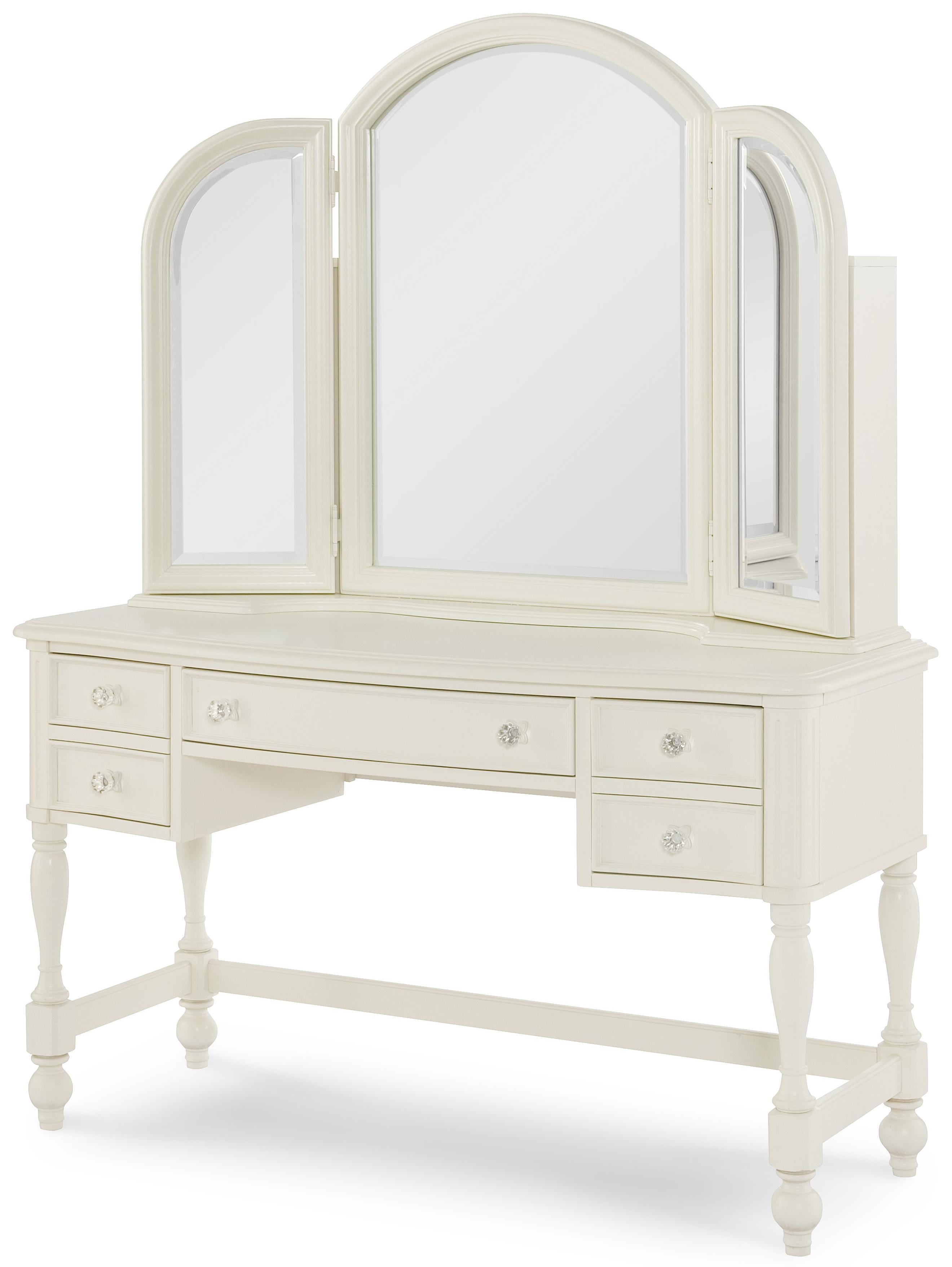 Exceptionnel Desk + Vanity Mirror