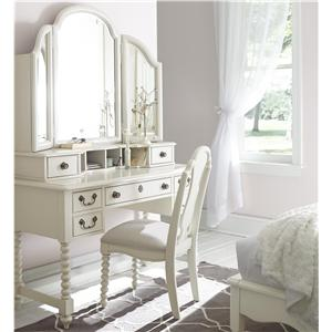Legacy Classic Kids Inspirations by Wendy Bellissimo Desk,Mirror and Chair Combo
