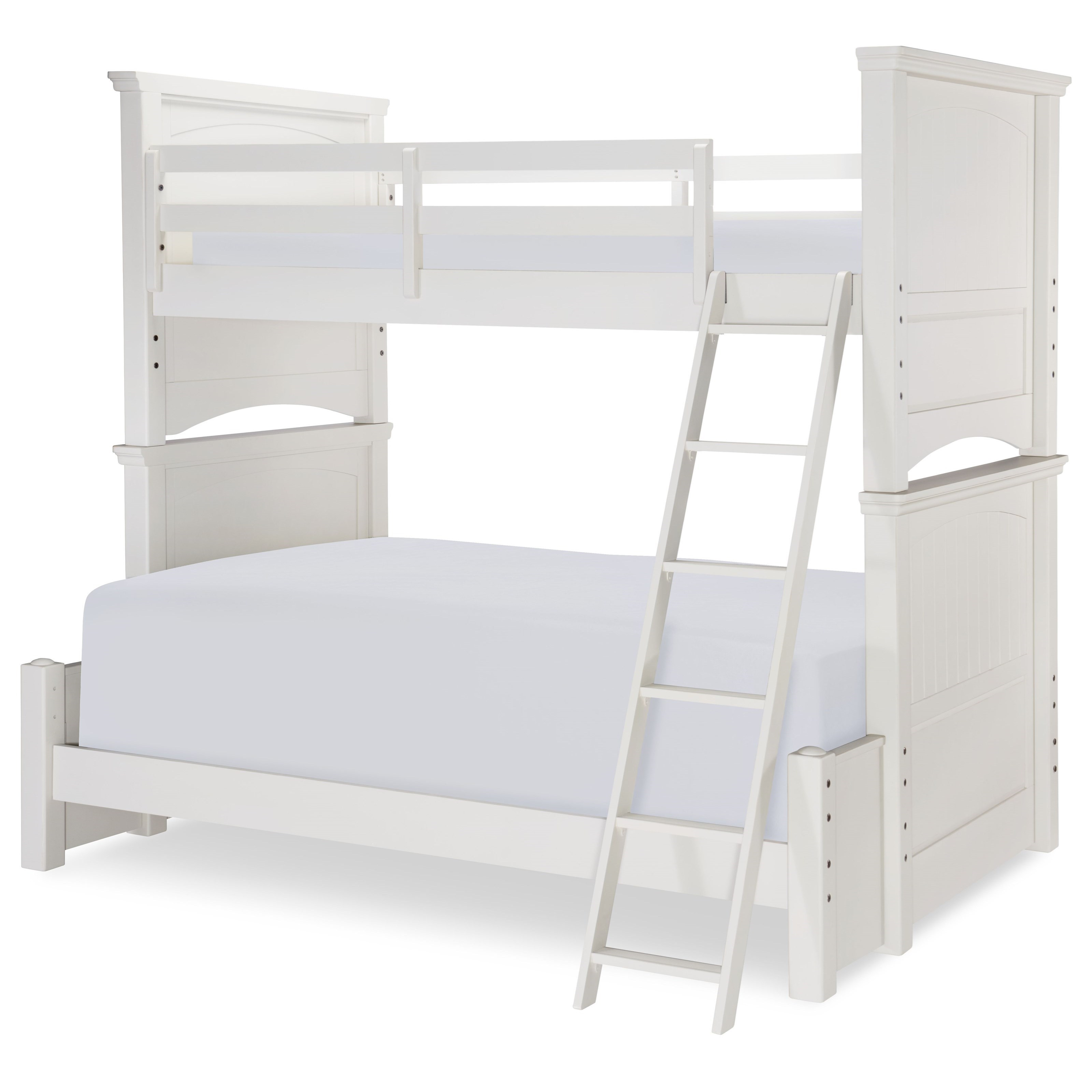 Twin Over Full Panel Bunk Bed