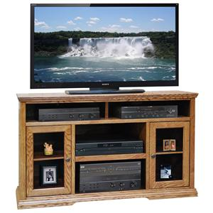 Legends Furniture Colonial Place 54-Inch Tall TV Cart