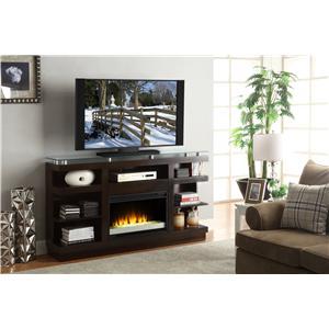 "Vendor 1356 Novella 65"" Fireplace Console"