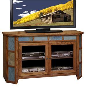 "Legends Furniture Oak Creek 51"" Angled Cart"