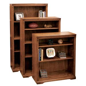 Vendor 1356 Scottsdale Bookcase with 1 Fixed & 2 adj. Shelves