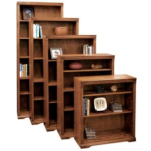 Vendor 1356 Scottsdale Bookcase with 1 Fixed & 3 adj. Shelves