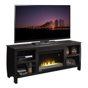 """Vendor 1356 The Curve 69"""" Fireplace TV Console"""