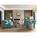 Lexington Ariana Valenza Curved Sofa