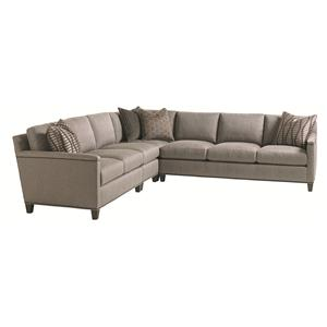 Lexington Carrera 4 Pc Sectional Sofa