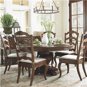 Lexington Coventry Hills 6 Pc Dining Set