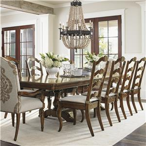 Lexington Coventry Hills 11 Pc Dining Set
