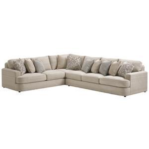 Lexington LAUREL CANYON Halandale Sectional Sofa
