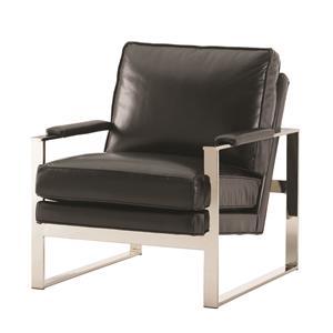 Lexington Lexington Leather Moonstone Chair