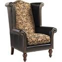 Customizable Kings Row Leather Chair