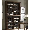 Lexington 11 South Two Unit Synergy Stacking Hutch - Shown with Journalist Writing Desk