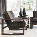 Lexington 11 South Sculptura Accent Table with Spider Web Base - Shown with Axis Chair