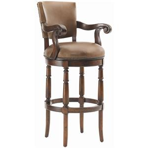 Lexington Fieldale Lodge Pinnacle Bar Stool