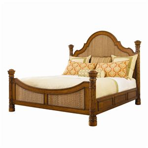 Tommy Bahama Home Island Estate Queen Round Hill Bed