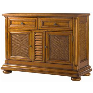 Tommy Bahama Home Island Estate Antigua Server