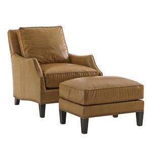 Lexington Kensington Place Ashton Chair and Ottoman