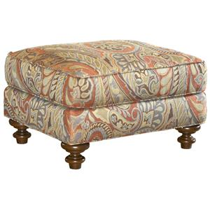 Lexington Lexington Upholstery Traditional Styled Elton Accent Ottoman