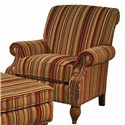Lexington Lexington Upholstery Wallace Upholstered Chair and Ottoman - Wallace Chair