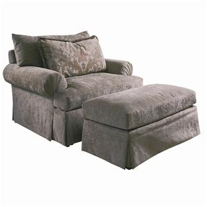 Lexington Lexington Upholstery Richland Chair and Ottoman
