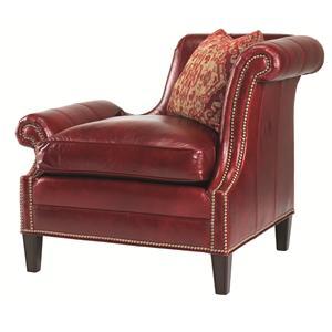Lexington Lexington Leather Braddock Raf Upholstered Chair