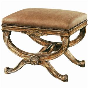Lexington Lexington Leather Cameron Ottoman