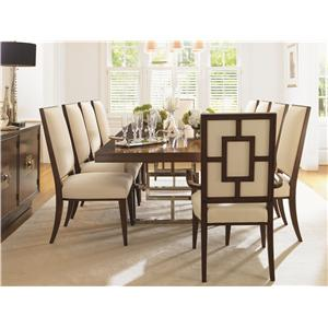 Lexington Mirage 11 Piece Dining Room Set