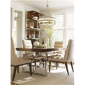Lexington Mirage 5 Piece Dining Set