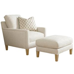 Lexington Monterey Sands Signal Hill Chair & Ottoman