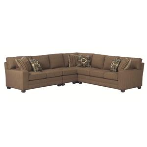 Lexington Personal Design Series Norwood Sectional