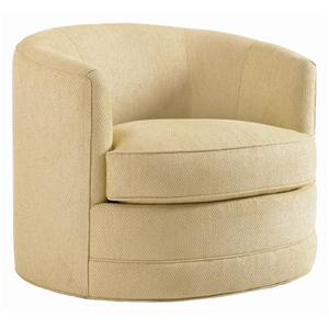 Lexington St. Tropez Graniers Swivel Chair