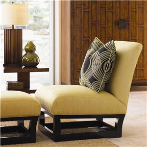 Tommy Bahama Home Ocean Club Fusion Chair & Ottoman